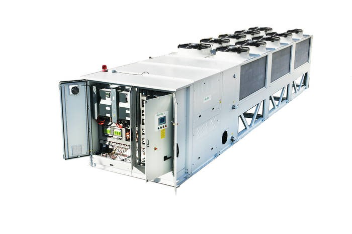 LOGO_Air cooled water chiller with propane