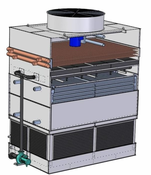 LOGO_Axial type Evaporative Condenser with desuperheater