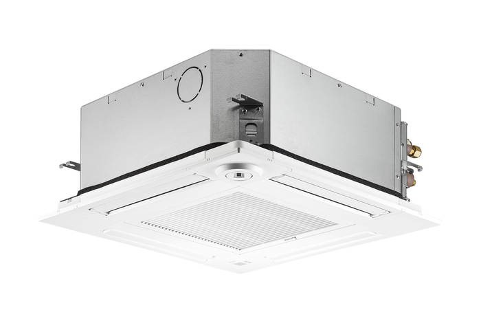 LOGO_4-way ceiling cassette SLZ-KF with optional 3D i-see sensor