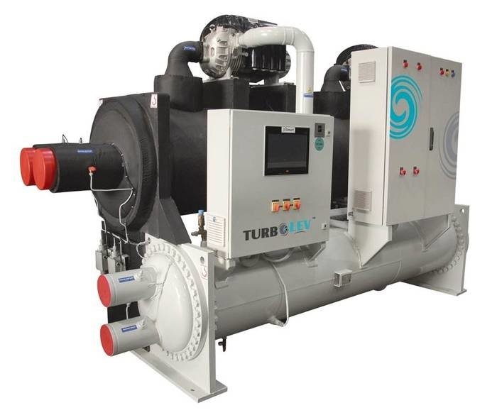 LOGO_TURBOLEV Centrifugal Chillers with Magnetic Bearing Compressor