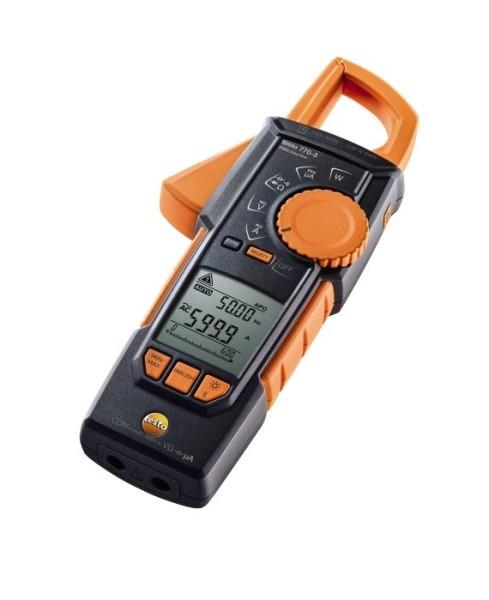 LOGO_Stromzangen testo 770-3 – innovativ, effizient und sicher.