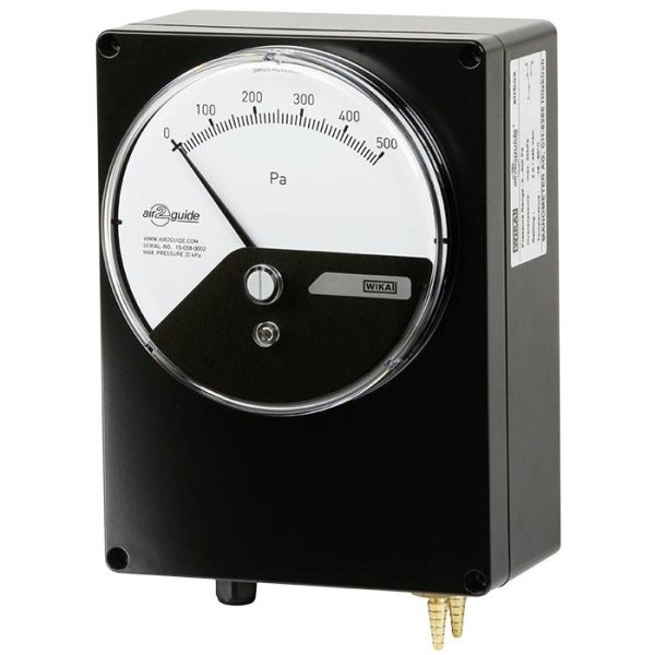 LOGO_Differential pressure gauge with pressure switch