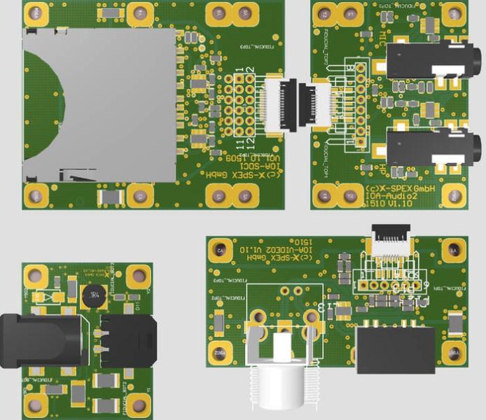 LOGO_Zubehör: IO-Adapter mit Standard-Buchsen (inkl. EMV-Filters und ESD-Schutz) *** NEU! ***
