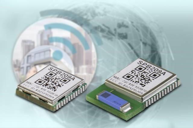 LOGO_SPB209 accelerate™ Wi-Fi/Bluetooth Kombimodul - ideal für Anwendungen in der Industrieautomation, für Smart Home Lösungen und in der Medizintechnik