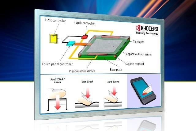 LOGO_MSC Technologies unterstützt die Haptivity-Technologie von Kyocera zur Simulation des Tastendrucks auf einem Touchscreen