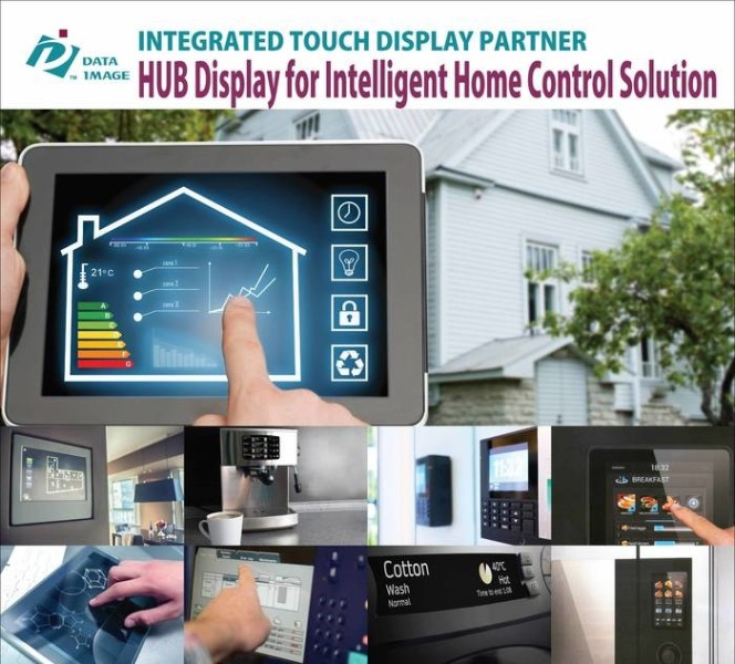 LOGO_HUB Display for Intelligent Home Control solution
