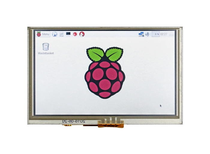 "LOGO_5""-HDMI-Touchscreen-Display for Raspberry Pi-based applications"