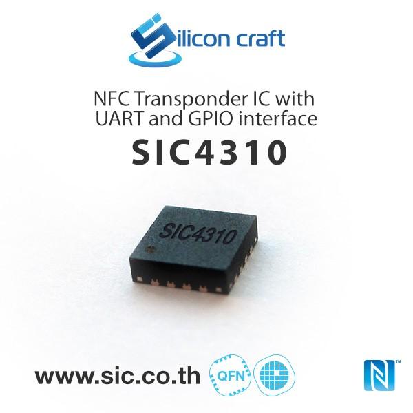 LOGO_SIC4310 NFC Transponder IC