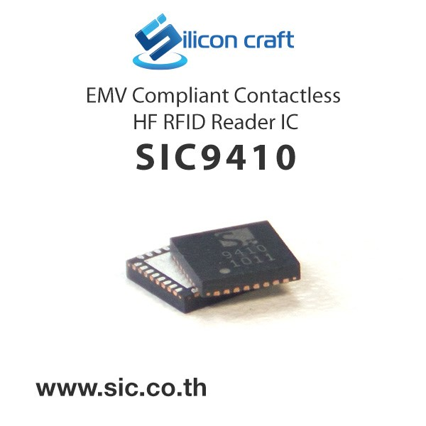 LOGO_SIC9410 Multiprotocol HF RFID Reader IC