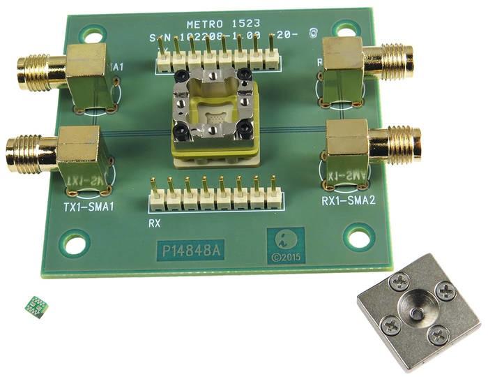 LOGO_HF Test Adapter mit SMA Anschluss