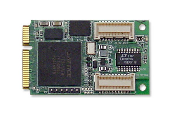 LOGO_8 Channel Analog I/O PCIe MiniCard Module