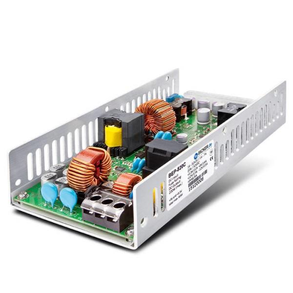 LOGO_BEP-520C: DC/DC ATX Industrie-PC-Netzteil mit langlebigen Polymer-Kondensatoren