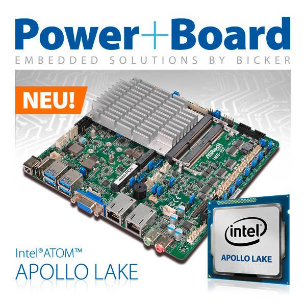 LOGO_Power+Board mit neuen Apollo Lake -Boards