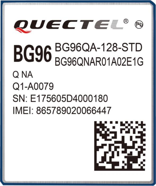 LOGO_Quectel BG96  IoT LTE CAT-M1/ eMTC Module