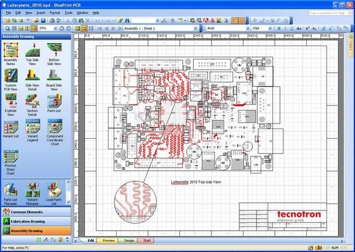 LOGO_Blueprint for PCB