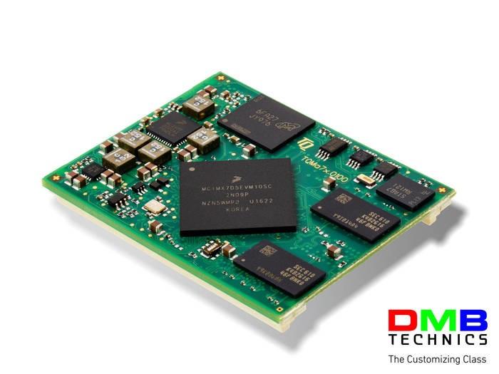 LOGO_ARM Cortex™-A7 Modul mit i.MX7 von NXP.