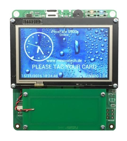 LOGO_MCR08 - RFID Terminal/Kartenleser