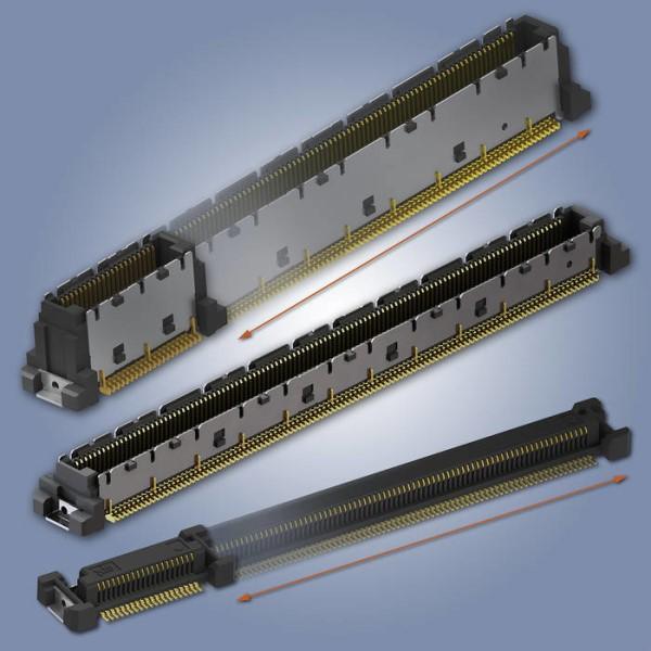 LOGO_Highspeed-Steckverbinder in weiteren Polzahlen erhältlich