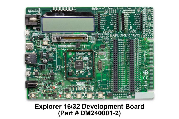 LOGO_Explorer 16/32 Development Board