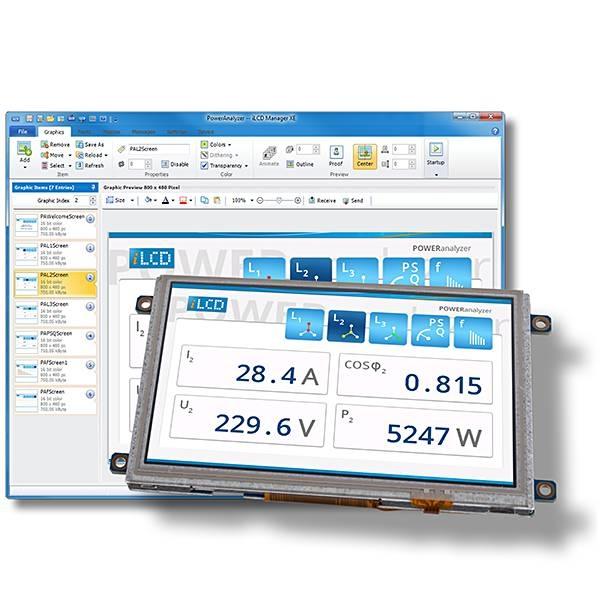 LOGO_iLCD Manager XE – die IDE für effektive und effiziente HMI-Entwicklung