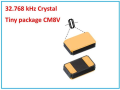 LOGO_Tuning Fork Crystal CM8V-T1A 32.768 kHz
