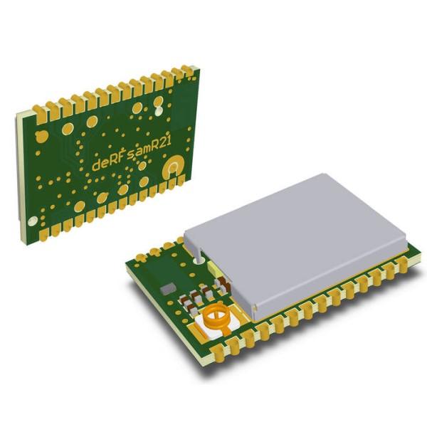 LOGO_OEM-Funkmodul-Serie deRFsamR21 mit SoC ATSAMR21E18