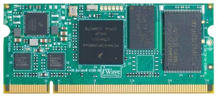LOGO_iW-RainboW-G18M-SM: i.MX6 Ultra Lite SODIMM System On Module