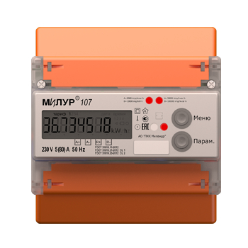 LOGO_Single-phase meter Milur 107