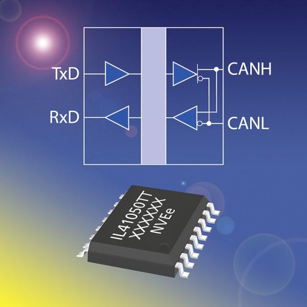 LOGO_ISOLOOP IL41050TT: Isolierender, schneller und kompatibler CAN-Transceiver