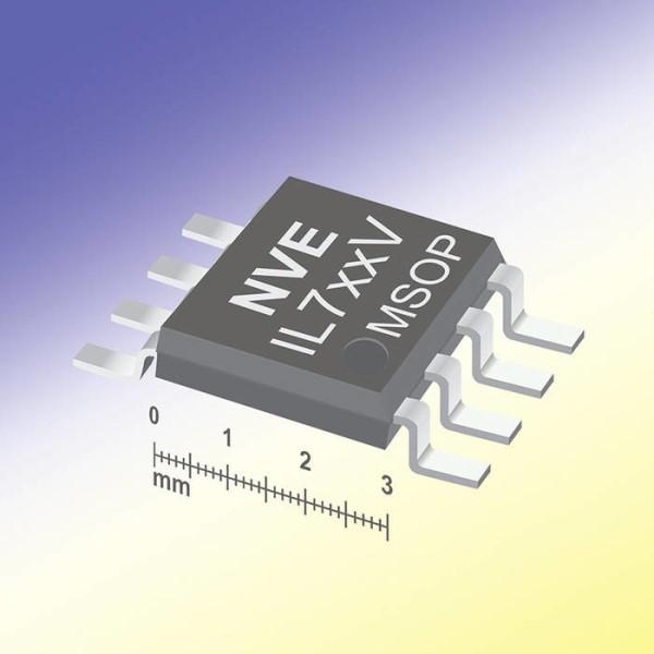 LOGO_Weltweit kleinste isolierte Datenkoppler im MSOP-Gehäuse