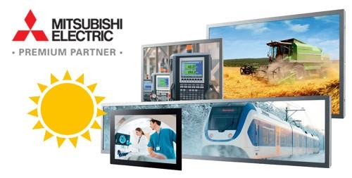 LOGO_Mitsubishi Display-Module mit PCAP Sensoren