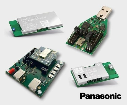 LOGO_Bluetooth Smart and WiFi Modules of Panasonic
