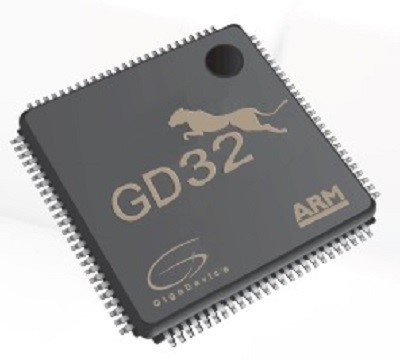 LOGO_ARM Cortex®-M4-Mikrocontroller Family from GigaDevice