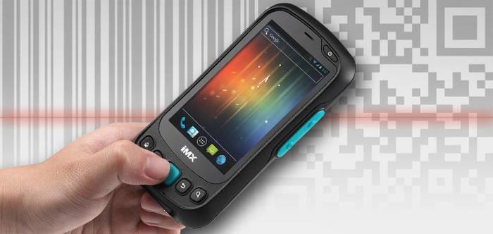 LOGO_IMX-3000 - Handheld mit Barcode, RFID, NFC und Android 4.0