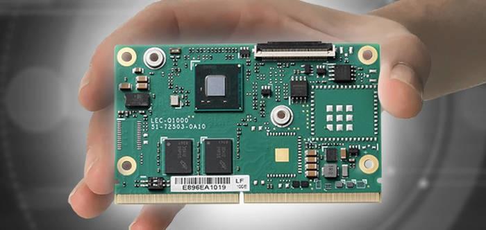 LOGO_SMARC Modul mit Intel® Quark™ X1000 SoC