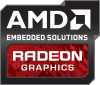 LOGO_AMD Radeon™ High-Performance Embedded GPU