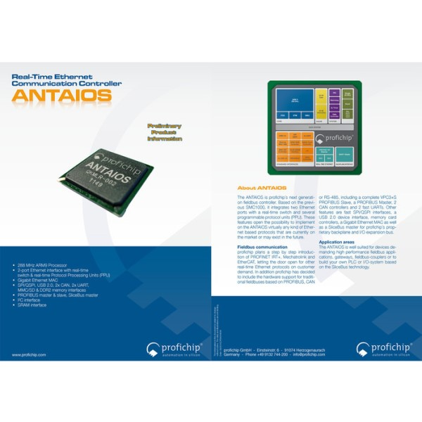 LOGO_ANTAIOS - Real Time Ethernet Field-Bus Communication Controller