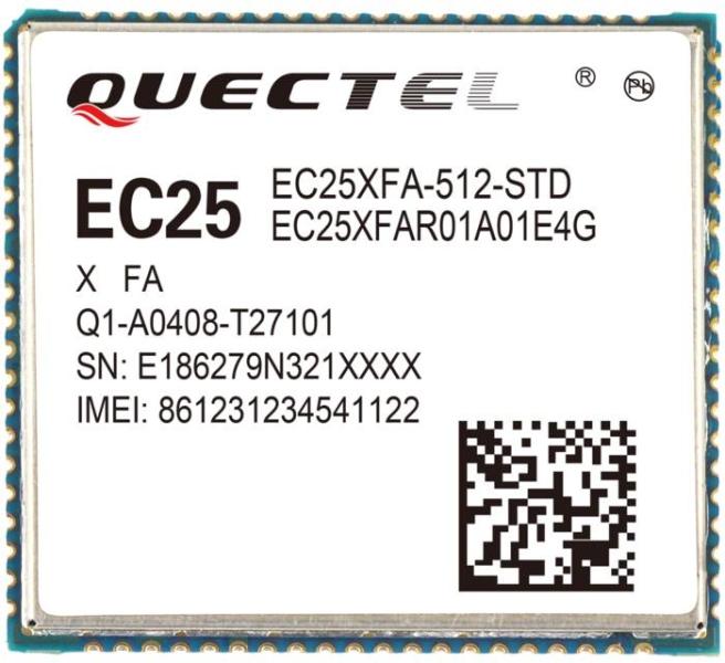 LOGO_Quectel EC25 LTE CAT-4 Module