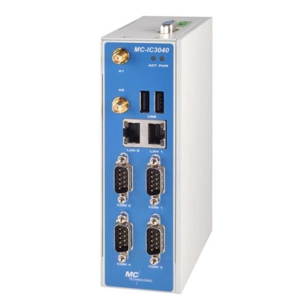 LOGO_MC-IC3040 Universell einsetzbarer LTE Industriecomputer für Fernwartungs-, Steuerungs- und Datenlogger-Anwendungen