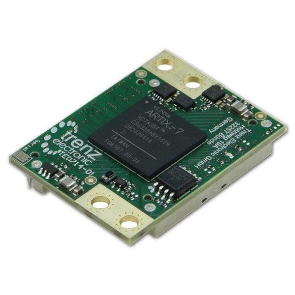 LOGO_TE0714 Artix-7 Micromodul 35T (50T) mit Speedgrade 2, 4 x 3 cm Formfaktor, industrieller Temperaturbereich