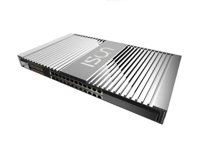 LOGO_Industrial Ethernet Switch with Hot-Swappable Redundant Power Supply, IS-RG224HS-2A