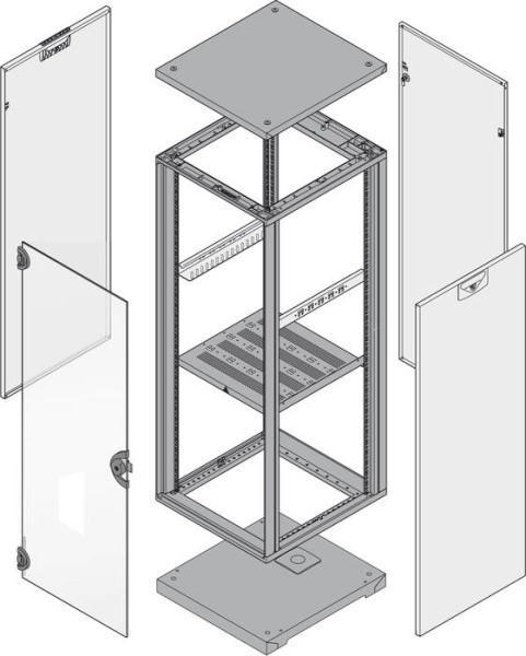 LOGO_Electronics cabinet configurator: Using easy drag and drop operation to obtain a graphic model