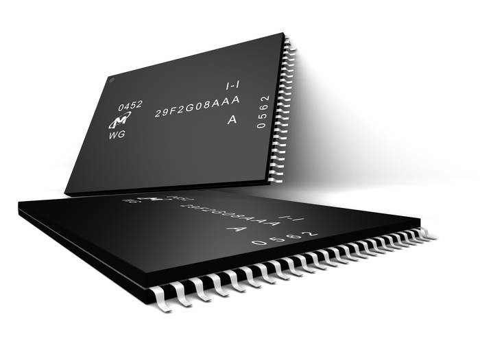 LOGO_NAND Flash; SLC, MLC, TLC, Serial NAND and 3D NAND