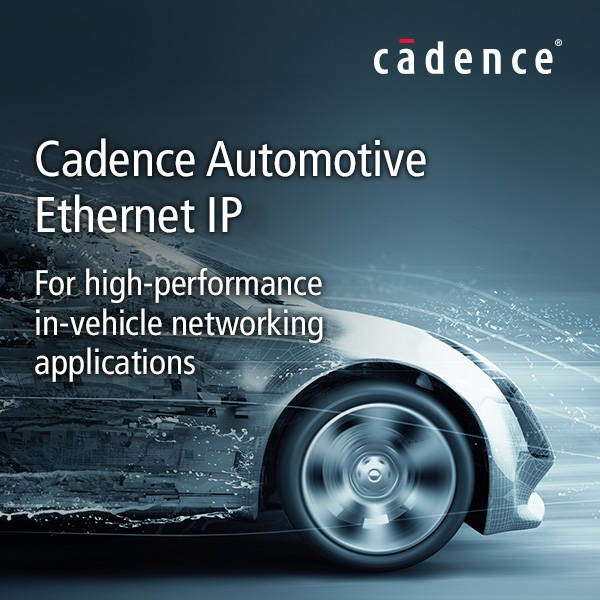 LOGO_Cadence® Automotive Ethernet IP