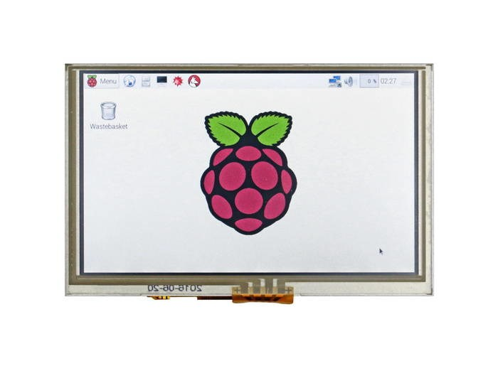 "LOGO_5""-HDMI-Touchscreen-Display für Raspberry Pi-basierte Applikationen"
