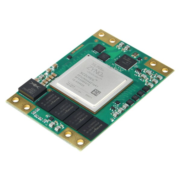 "LOGO_TE0808 ""UltraSOM+"" Micromodul, 4 GByte DDR4, 20 x serielle Transceiver"