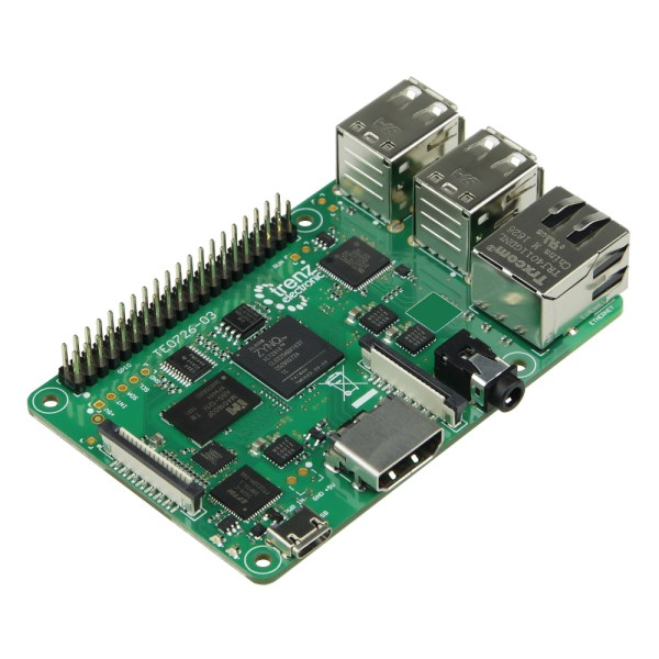 "LOGO_TE0726 ""ZynqBerry"" - FPGA-Modul mit Xilinx Zynq-7010 im Raspberry Pi Formfaktor"