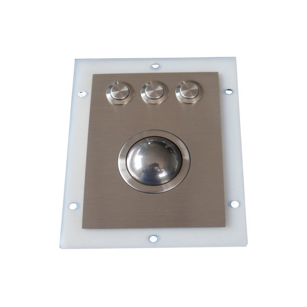 LOGO_Waterproof stainless steel optical trackball