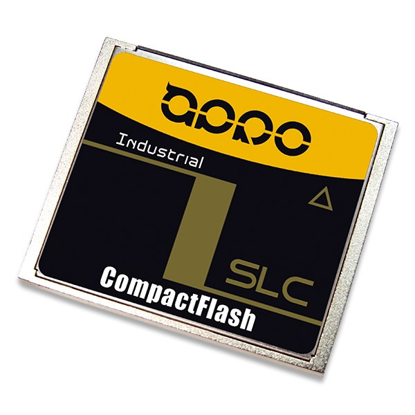 LOGO_Industrial SLC/MLC CompactFlash Card HERMIT-F Series