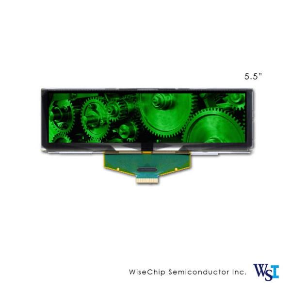 "LOGO_5.50"" OLED Display-Verkraftet Weiten Temperaturbereic"
